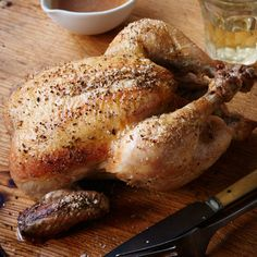 Roast Chicken with Aromatic Jus  | Food