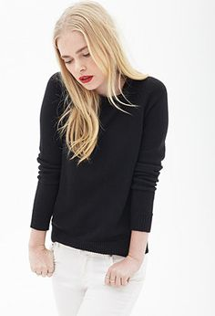 Classic Cable Knit Sweater | FOREVER21 - 2000058390