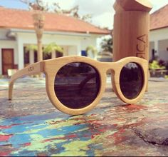Eco friendly fashion, Bamboo polarised sunglasses by Arca Apparel. 169NZD$ online www.ArcaApparel.com  @ArcaApparel http://www.arcaapparel.com/collections/sunglasses/products/sunglass-4