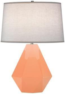 "Robert Abbey Delta Petal 22 1/2"" High Table Lamp"