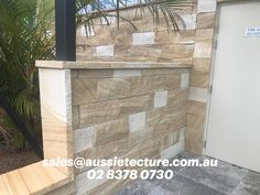 Kirra Banded Stone wall cladding is a naturally split faced cladding, banded and white mix colors. Natural Stone Cladding, Natural Stone Wall, Natural Stones, Stone Supplier, Front Fence, Wall Cladding, Color Mixing, Fire, Landscape