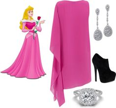 """Sleeping Beauty (A)"" by mollylsanders on Polyvore"