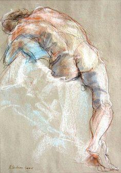Gay art using pastels