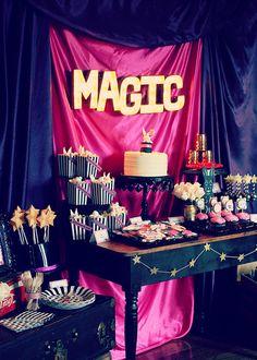 Vintage Magic Party #vintage #magicparty