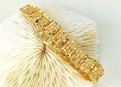 Bracelete Feminino Dourado da Dáli Acessórios