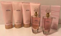 Avon Lot Of 6 Prima Perfume Spray, Body Lotion, Shower Gel Gift Set  | eBay