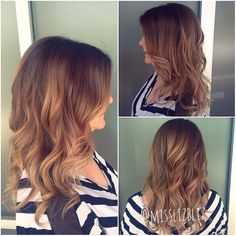 Sombre by Liz! We are loving this look here @seasonssalonanddayspa! Are you?