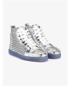 CHRISTIAN LOUBOUTIN Louis Spike Sneakers. #christianlouboutin #shoes #sneakers