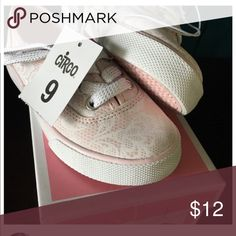 SALE! NWT Circo Kathryn pink lace sneakers size 9 These adorable light blush sneakers feature and all over lace print, with just a little bit of shine. Size 9. Brand-new from target. Please note* No offers excepted on sale prices Circo Shoes Sneakers