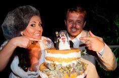naked cake, suculentas