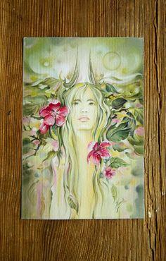 """THE TAURUS"" - Protective Angel for Zodiac Sign/ by Anna Miarczynska"