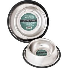 PetEdge No-Tip Non-Skid Stainless Steel Bowl 16 ozRemovable rubber non-skid ring, rust resistant, and of course - chew resistant!Features:Rubber non-skid ring Rust resistant Chew resistant Elevated Dog Feeder, Stainless Steel Dog Bowls, Pet Feeder, Dog Bones, Cat Feeding, Pet Mat, Pet Bowls, Dog Supplies, Dishes