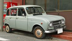 Renault 4, my first car