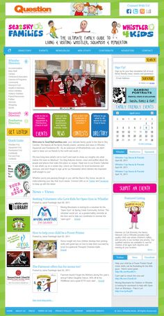 Web project case studies and portfolio from Custom Fit Online, Whistler BC Canada.