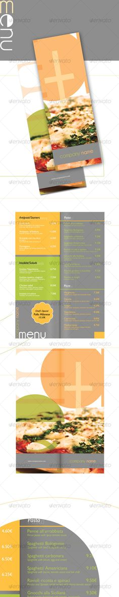 Light Restaurant Menu Template PSD. Download here : http://graphicriver.net/item/light-restaurant-menu/102170?s_rank=1463&ref=yinkira
