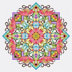 Cynthia Emerlye, Vermont artist and life coach: Cover Design for an Upcoming Mandala Book