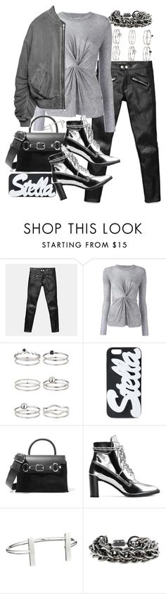 """Untitled #20709"" by florencia95 ❤ liked on Polyvore featuring Coach, 10 Crosby Derek Lam, Miss Selfridge, STELLA McCARTNEY, Alexander Wang, Stuart Weitzman, French Connection and Burberry"