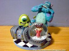 Disney Monsters Inc. Snowglobe