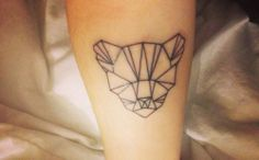 _ geometric tiger tattoo _