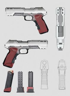 Concept Art World » Inspirational Weaponry Concept Designs by 39 Talented Artists: