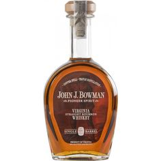 John J. Bowman Single Barrel Bourbon - Caskers