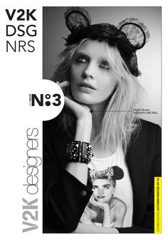 V2K designers in-store magazine issue no:3 Mikki Mouse, Maison Michel Hat, Wedding Headband, Disney Ears, Mickey Minnie Mouse, Lace Bunny Ears, Bear Ears, Evolution Of Fashion, Lace Headbands