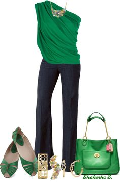 """Mean Green"" by shakerhaallen ❤ liked on Polyvore"