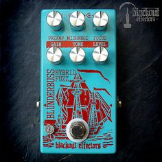 guitar pedals The Blunderbuss by Blackout Effectors
