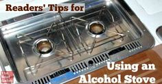 Got questions about using an alcohol stove (Origo) on a boat?  Wondering about finding fuel and filling?  Or safety?  TBG readers share their experiences.