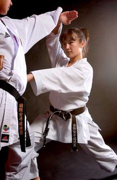 """The Olympic bid fits with Elisa's fighting spirit:    """"Karate is a beloved sport by millions around the world. Karate athletes are dedicated, focused and amazingly talented. We do this sport because we truly believe in it, not for any fortune or fame. If there ever were a modern day sport that captured the true meaning of budo, fighting spirit, it is karate. Let's bring budo to the Olympic Games."""""""