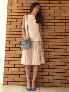 yukaさんのスカート「JILLSTUART フローラエンブロイダリースカート」を使ったコーディネート