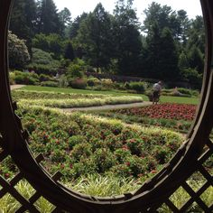 Gardens at Biltmore Estate, Asheville, NC.