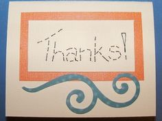 How to Make 3 Different Homemade Thank You Cards - Yahoo! Voices - voices.yahoo.com