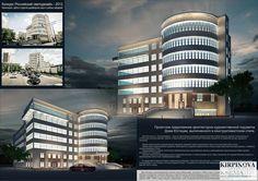 Проектное предложение архитектурно-художественной подсветки Дома Юстиции в конструктивистском стиле: архитектура, офис, администрация, 6-12 эт | 18-36м, 3000 - 5000 м2, фасад - штукатурка, здание, строение, конструктивизм #architecture #office #administration #612floors_1836m #3000_5000m2 #facade_plaster #highrisebuilding #structure #constructivism arXip.com