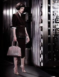 """Coco Rocha in """"To Catch A Thief"""" Photographed By Joshua Jordan For Stylist Magazine #189, September 2013"""