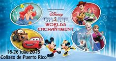 Disney on Ice: Worlds of Enchantment @ Coliseo de Puerto Rico, Hato Rey #sondeaquipr #disneyonice #worldsofenchantmet #coliseopr #choliseo #hatorey #sanjuan #paralosninos