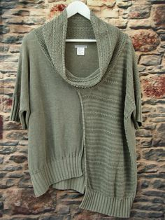 Sarah Pacini Linen Polyamide Layering Lagenlook Quirky Knit Jumper One Size | eBay