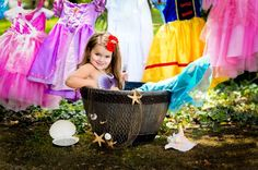 Cute princess picture idea...amazing!!! Why did I not think of this :)