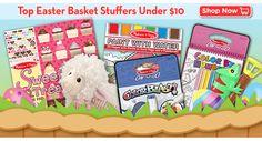 Easter basket stuffers under 10 dollars!