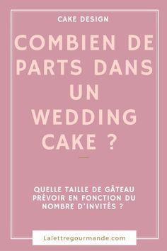 Combien de parts dans un wedding cake ?