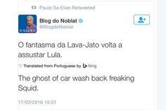 Política brasileira fica ainda mais surreal com a 'ajuda' do tradutor do Bing - Blue Bus