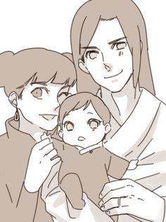 Nejiten — work by kikico Boruto, Naruhina, Anime Naruto, Naruto Shippuden, Tenten Y Neji, Naruto Sd, Naruto Family, Anime Family, Naruto Couples