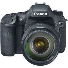Canon - Canon EOS 7D 18 MP CMOS Digital SLR Camera with 3-inch LCD and 28-135mm f/3.5-5.6 IS USM Standard Zoom Lens