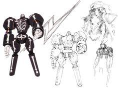Take-Mikazuchi Persona Concepts - Characters & Art - Persona 4