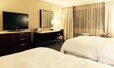 Schreitisch Doppelzimmer The Westin O´Hare Hotel Chicago Airport