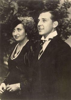 The Count and Countess of Barcelona, parents of King Juan Carlos