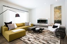 NFID- Modern - modern - living room - calgary - by Natalie Fuglestveit Interior Design