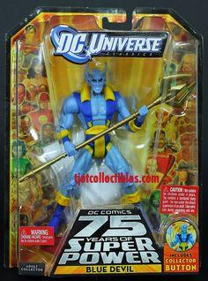 Blue Devil DC Universe Classics Wave 13 Action Figure Trigon CNC 2010 Mattel | eBay