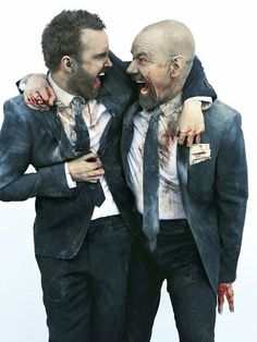 Aaron Paul & Bryan Cranston I love these 2 men more than anything
