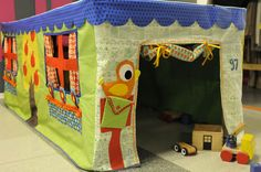 tafeltent - stof - naaien - DIY - spelen - kinderen